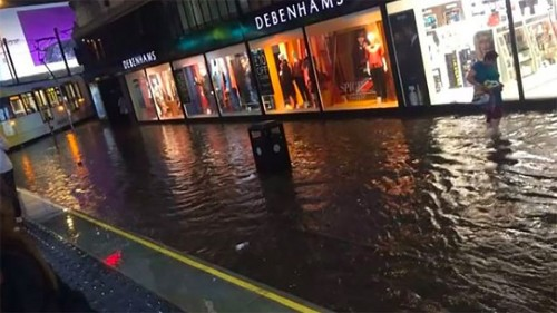 Manchester experiences epic storms, social media explodes with pics, videos