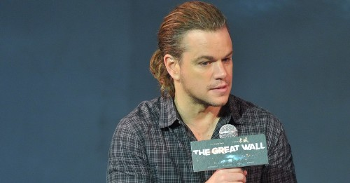 Let's analyze Matt Damon's new ponytail