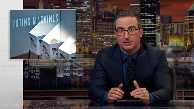 John Oliver takes an eye-opening look at the problems with the U.S. voting system