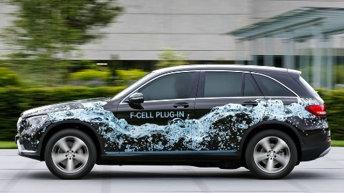Mercedes planning hydrogen-powered plug-in hybrid crossover