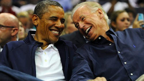 Biden 'asked President Obama not to endorse' him, but people aren't buying it