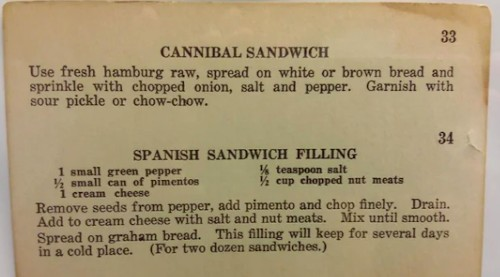 This community collects extremely charming vintage recipes - Culture - Mashable ME