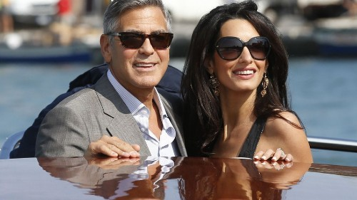 George Clooney Marries Amal Alamuddin in Star-Studded Italian Wedding
