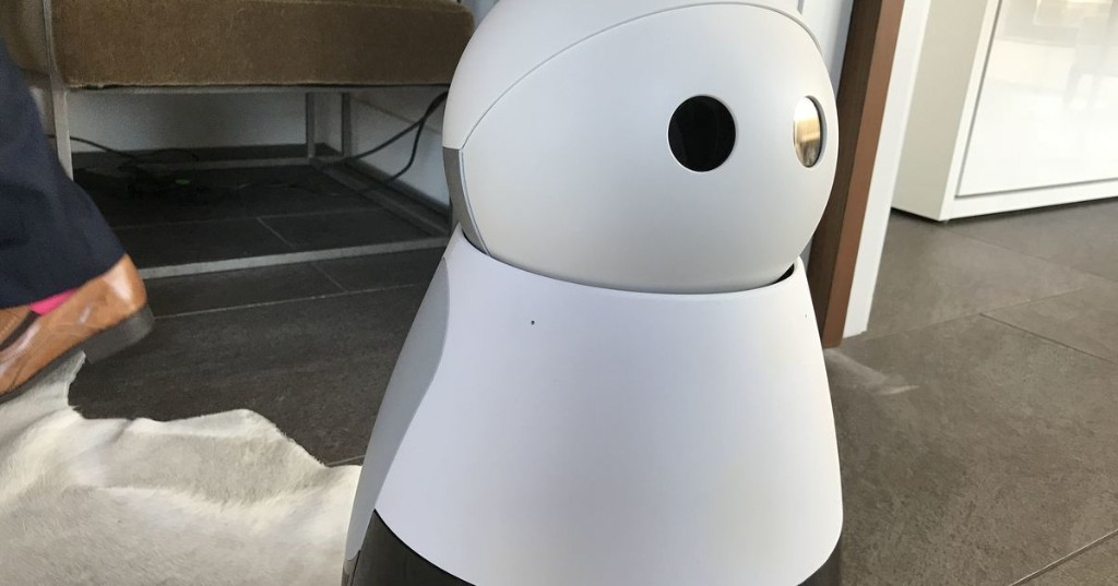 Cute little Kuri robot can now capture and share those unexpected moments you missed