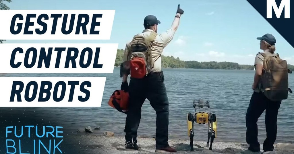 This gesture control tech lets you control robots by pointing