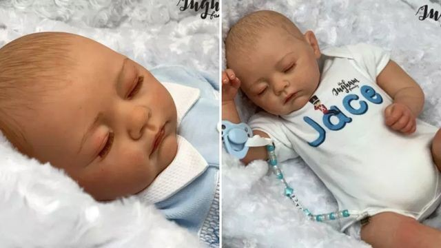 Family vlog channel sells creepily lifelike dolls modeled after their newborn baby