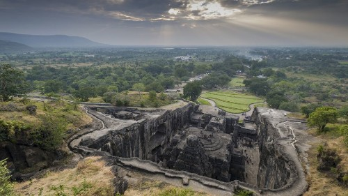 Cannabis preserved India's ancient Ellora caves from decay for 1,500 years