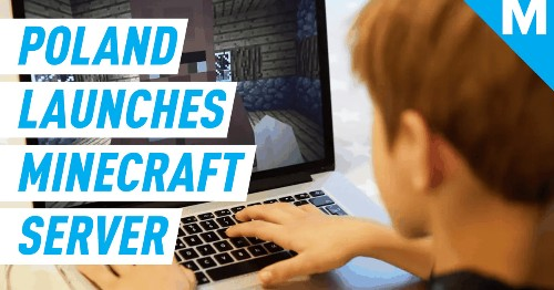Polish government launches Minecraft server so young people can game during coronavirus