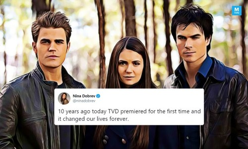 10 Years of 'The Vampire Diaries': Nina Dobrev's Throwback Tribute Is Making Us Miss Mystic Falls!