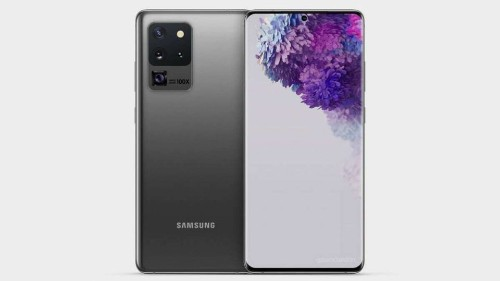 Samsung Galaxy S20 Ultra 5G Camera Module Renders Showcase Two-Tone Design - Tech