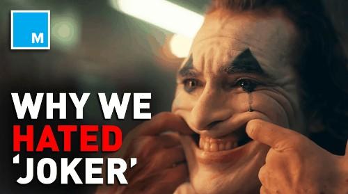 Reasons why we hated 'Joker'