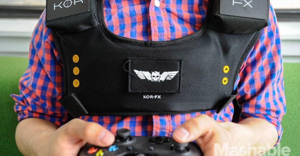 Kor-Fx gaming vest: 'Feeling' what happens in video games is overrated [REVIEW]