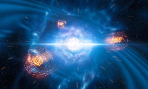 Astronomers Found Heavy Elements In The Aftermath Of A Neutron Star Collision