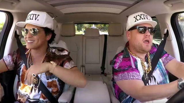 Bruno Mars Carpool Karaoke is 15 minutes of pure, straight up joy