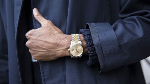 Smartwatches are already passé for London fashionistas