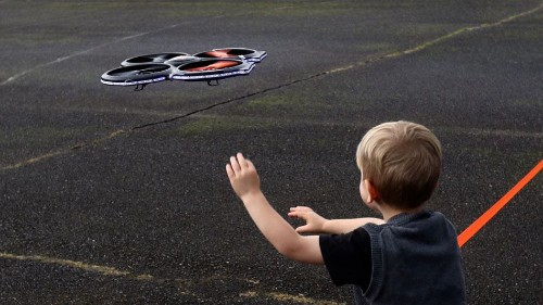 Toddler loses an eye after consumer drone spins out of control