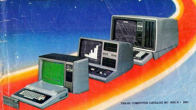 Inside the pages of a 1981 Radio Shack catalog