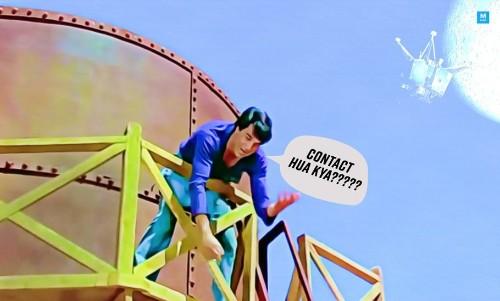 UP Man Climbs A Bridge, Refuses To Come Down Until ISRO Contacts Vikram Lander