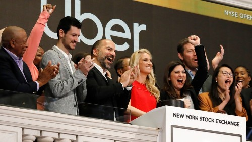 Uber just went public, and former CEO Travis Kalanick wasn't there to ring the bell