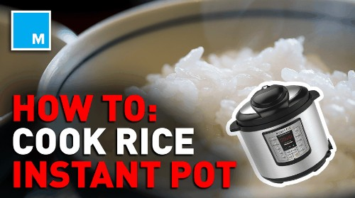 How to make rice in an Instant Pot