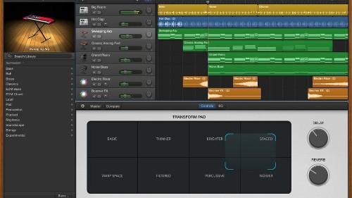 Apple beefs up its beats in GarageBand update