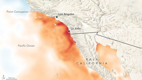 The ocean is cooking off the Southern California coast. Here's why.