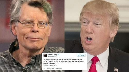 38 times Stephen King absolutely slammed Donald Trump on Twitter