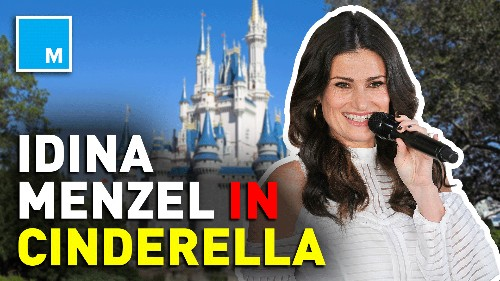 Idina Menzel in talks to join Sony's 'Cinderella' cast