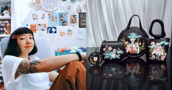 This Singaporean embroidery artist has her own capsule collection with Charles & Keith - Culture