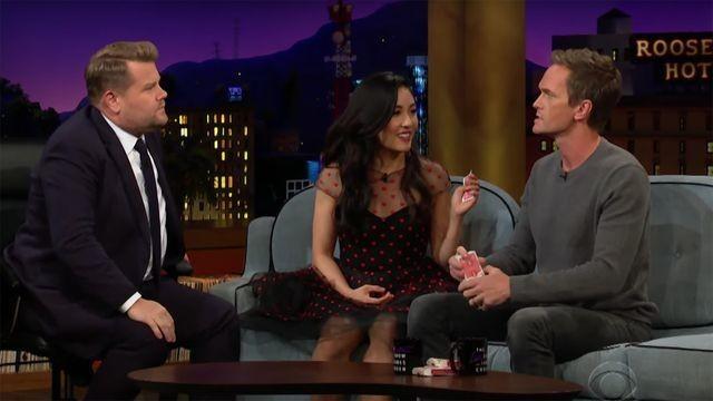 Neil Patrick Harris destroys Constance Wu in a magic trick contest