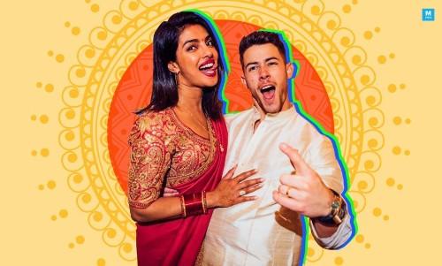 Priyanka Chopra And Nick Jonas Celebrate First Karwa Chauth At a Concert And It's Hella Cute!