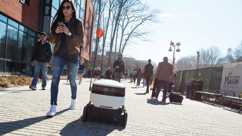 More delivery robots head to college campuses to bring you late-night pizza