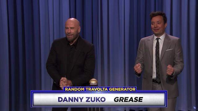 It's a Travolt-off! Jimmy Fallon challenges John Travolta to do impressions of himself