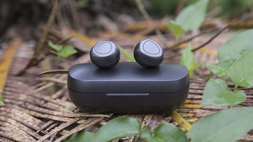 These wireless earbuds made from 100% recycled plastic are on sale