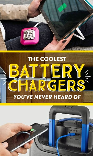 5 of the coolest battery chargers you've never heard of