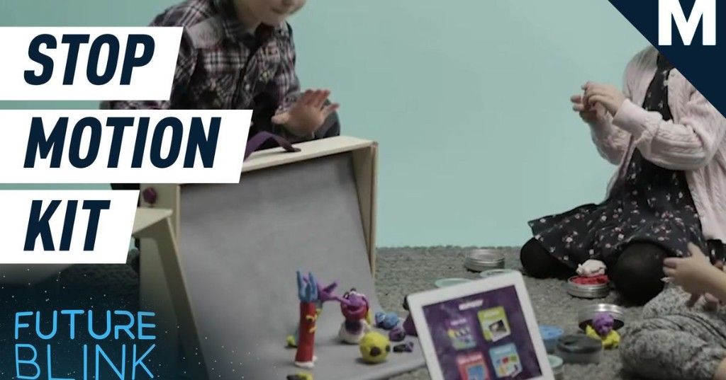 Turn your home into a stop-motion movie studio with this kit