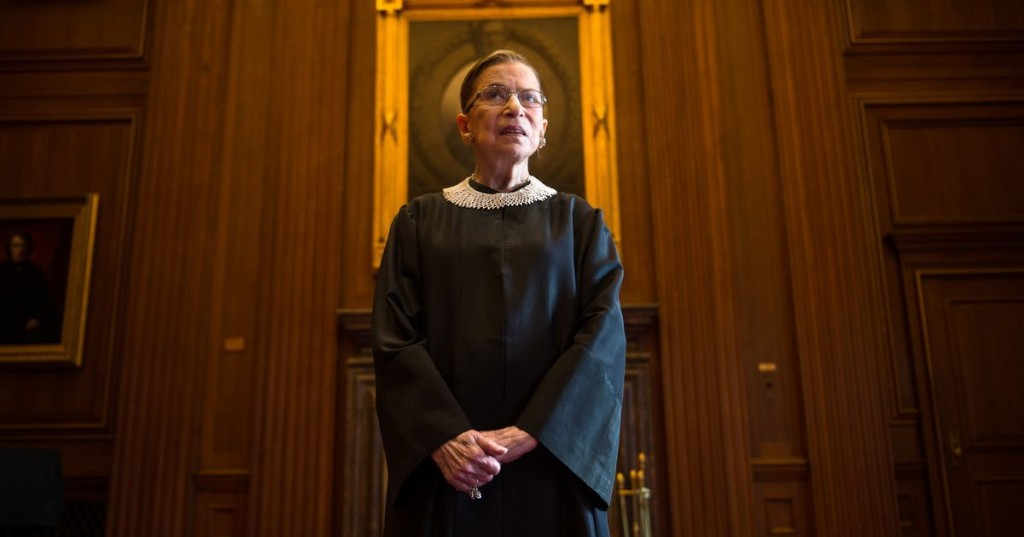 There's no choice but to turn your grief into a fight for Ruth Bader Ginsburg's legacy
