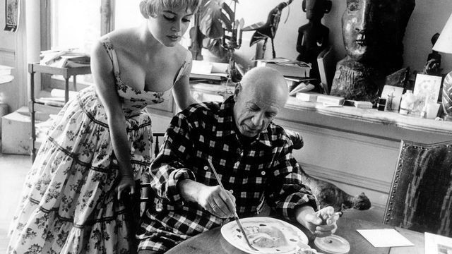 When Brigitte Bardot met Pablo Picasso, notorious ladies man