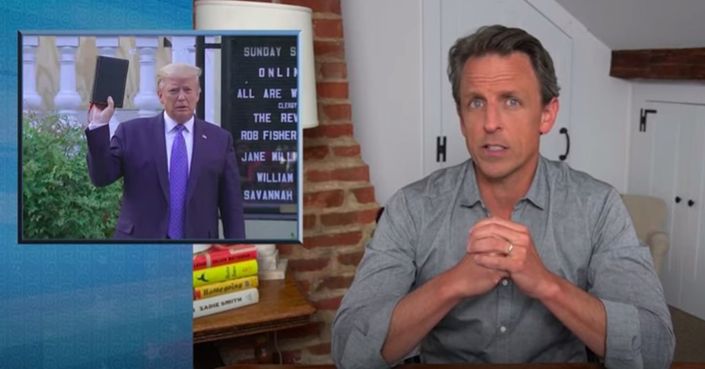 Seth Meyers goes scorched earth on Trump's war on his own citizens