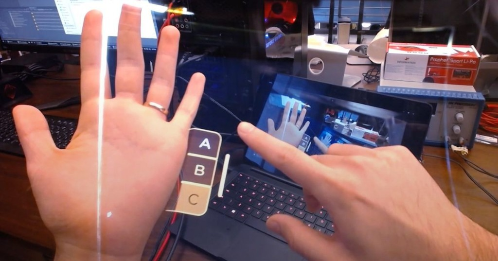 Leap Motion's new AR headset will make you feel like you're in a sci-fi movie