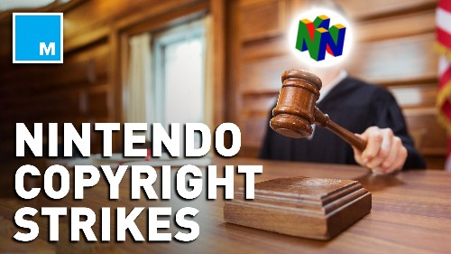 Nintendo forces YouTube to remove vids featuring its music