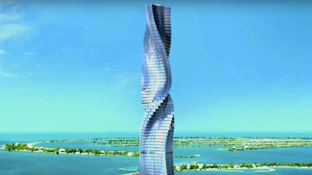 Dubai is bringing the world its first rotating skyscraper