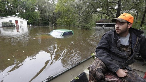 South Carolina flooding is the type of event climate scientists have warned about for years