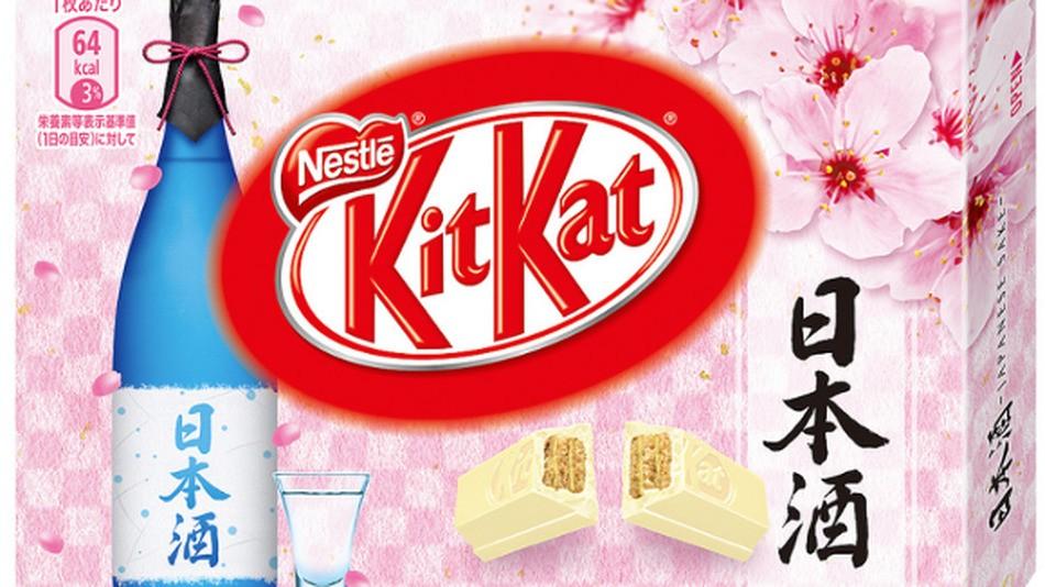 Sake-flavored Kit Kats just hit Japan