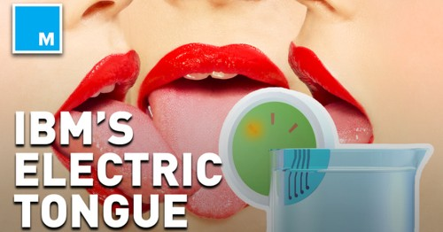 This electronic tongue tastes liquids for you