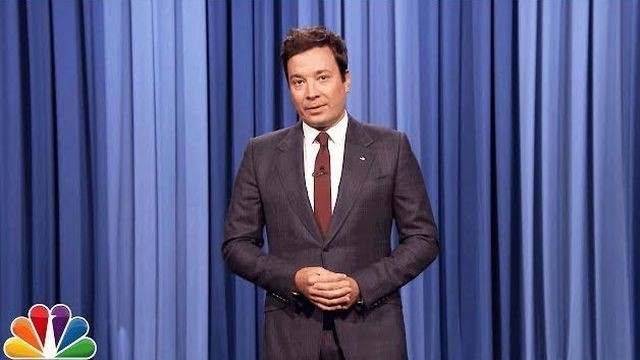 Jimmy Fallon fights back tears as he delivers powerful attack on Trump after Charlottesville