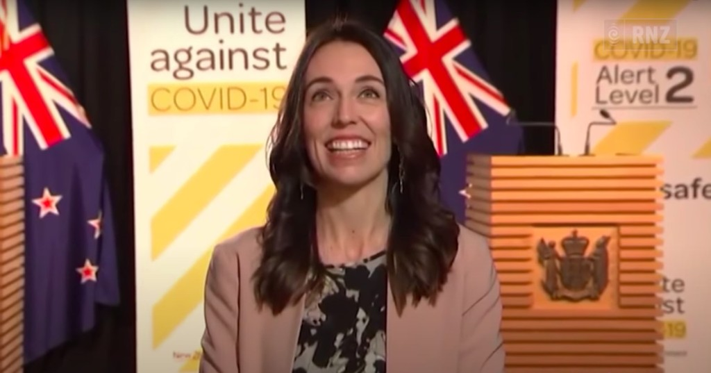 New Zealand PM Jacinda Ardern stays cool as earthquake hits during live interview