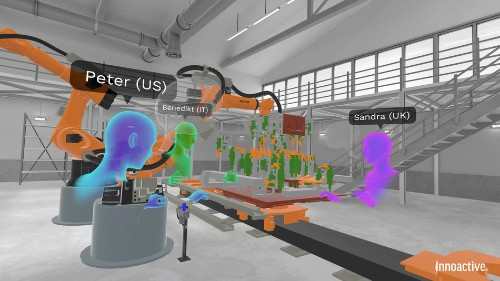 Virtual reality training for car assembly line workers feels like a game — but it might work