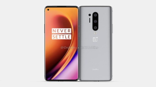 OnePlus 8 Pro Leaked Live Image Shows The 120Hz Display - Tech