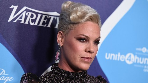 Pink flawlessly shuts down Internet criticism about her weight